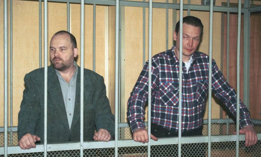 Андрей Козленок (справа) и Николай Фёдоров. Фото © ТАСС / Константин Крымский