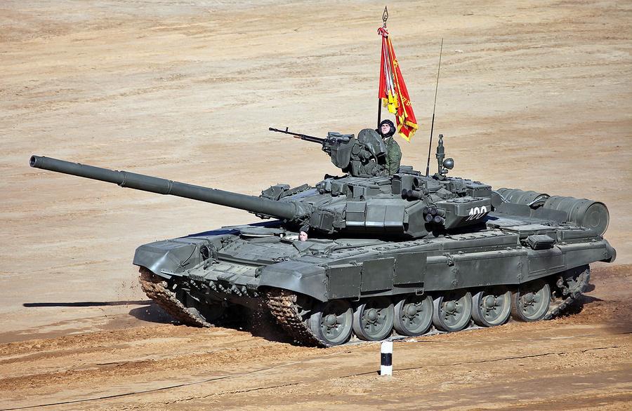 <p>Танк Т-90А. Фото © Wikipedia</p>
