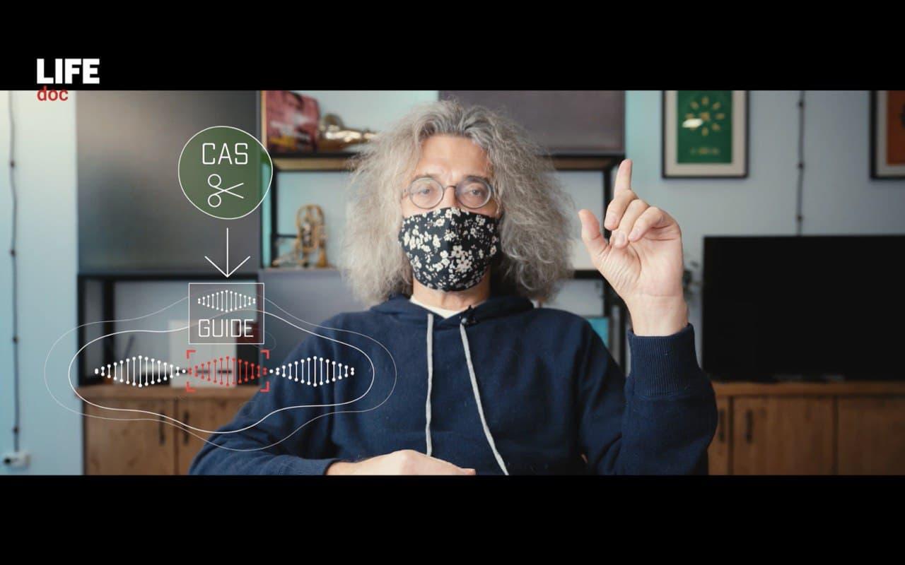 К. Северинов. Фото © д/ф «Homo Deus: кого спасут игры в Бога»