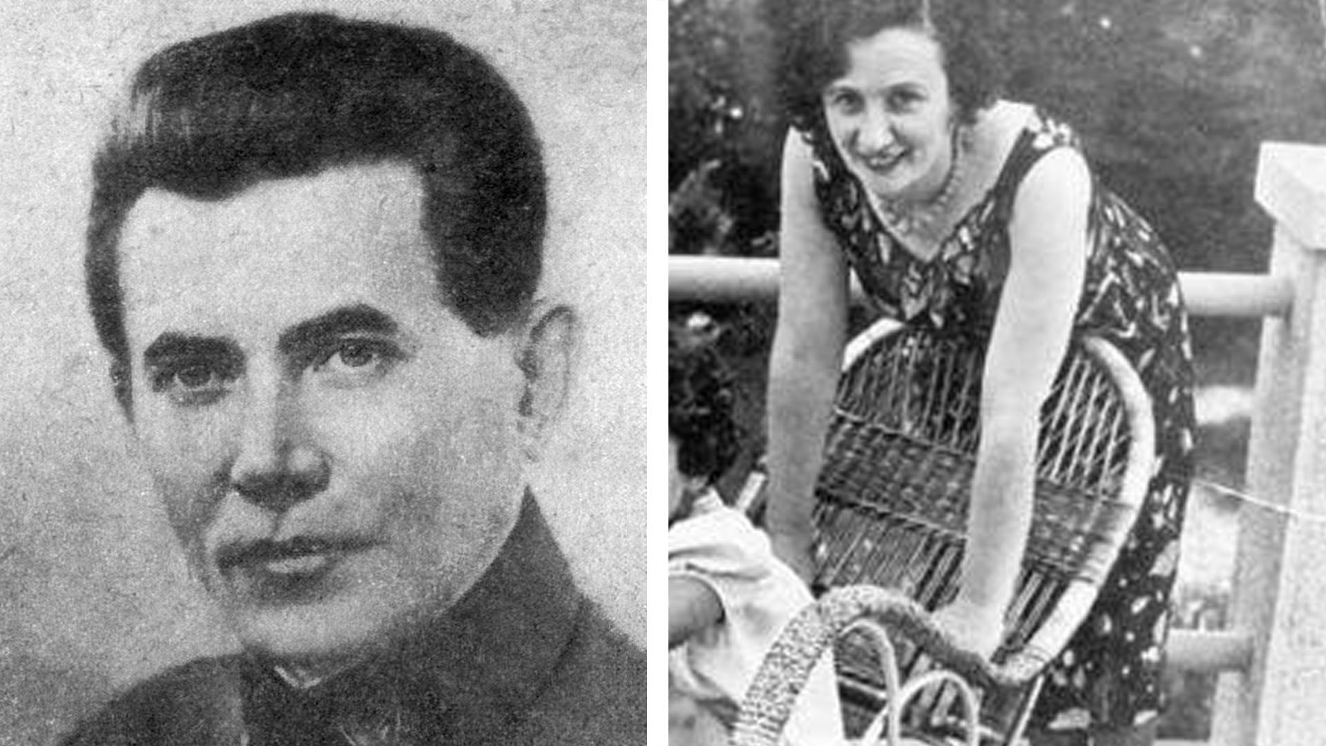 Николай Ежов и Евгения Хаютина. Фото © Wikipedia