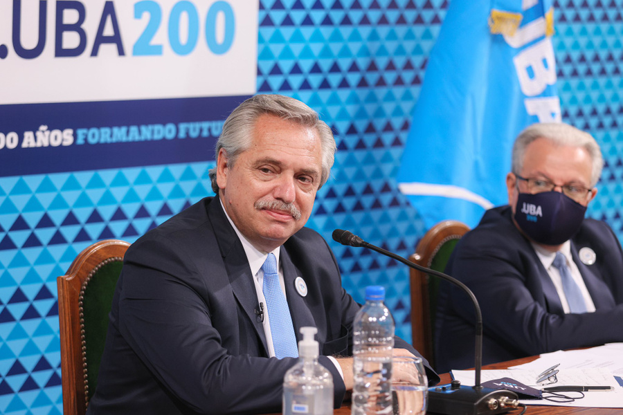 <p>Президент Аргентины Альберто Фернандес. Фото © Twitter / alferdez</p>