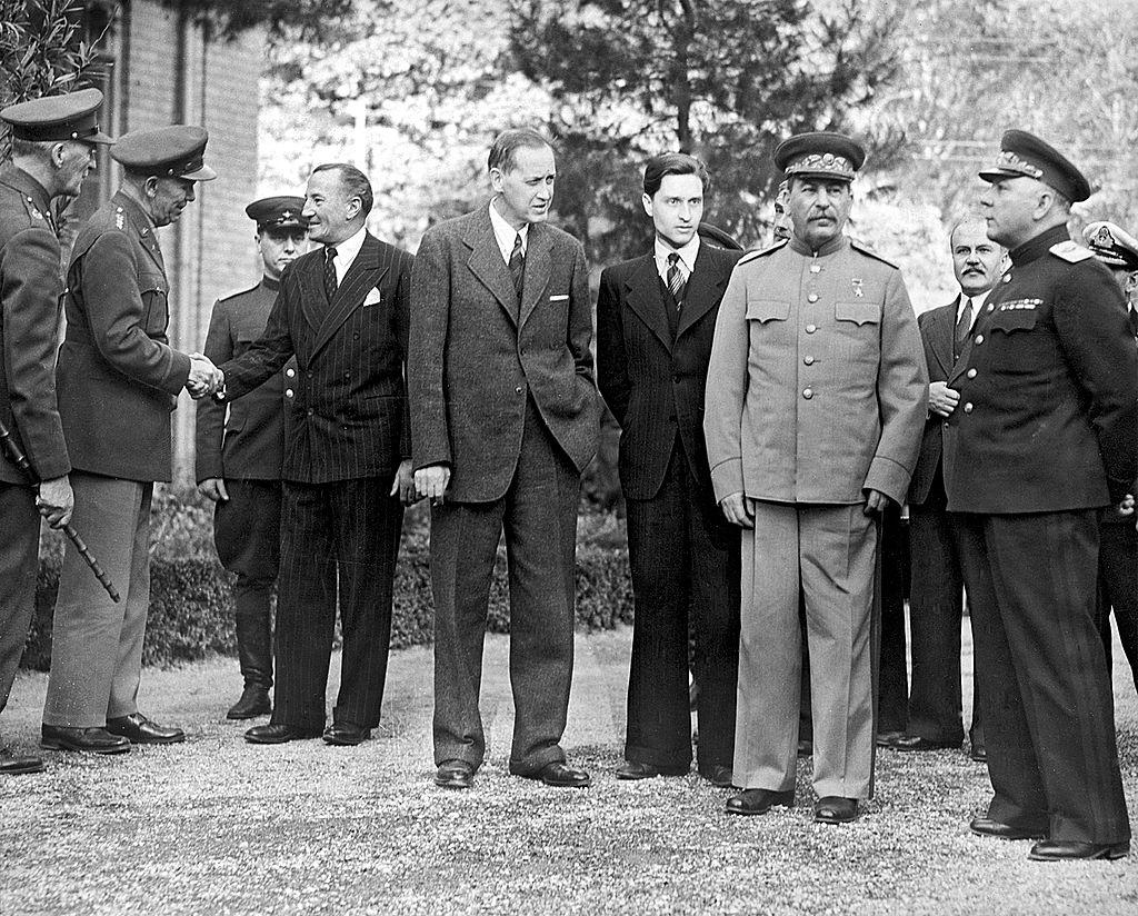 Сталин в Тегеране. Фото © Fine Art Images/Heritage Images/Getty Images