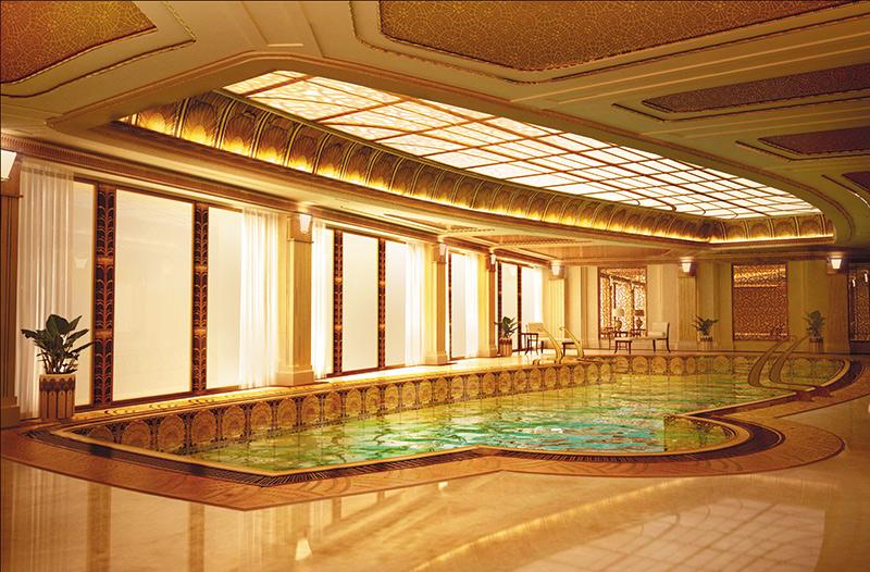 """Бассейн в ЖК """"Гранатный палас"""". Фото © Luxury Living"""
