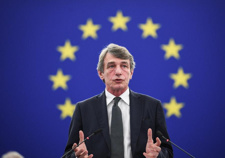 <p>Глава Европарламента Давид-Мария Сассоли. Фото © ТАСС / ЕРА</p>