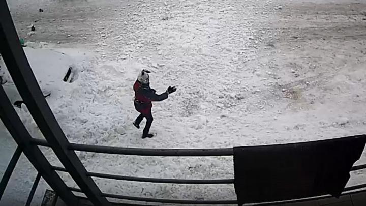 347032838859.83606 Родился в рубашке: в ЯНАО ребёнка едва не убило сошедшим с крыши снегом — видео