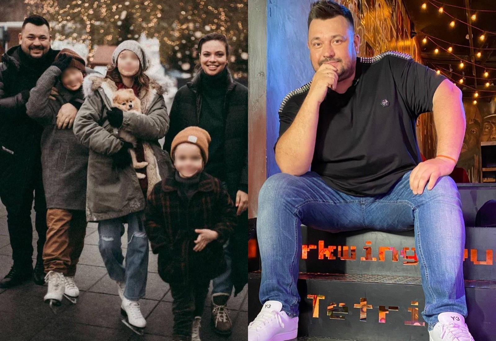 Сергей Жуков с новой семьёй. Фото © Instagram / sezhukov