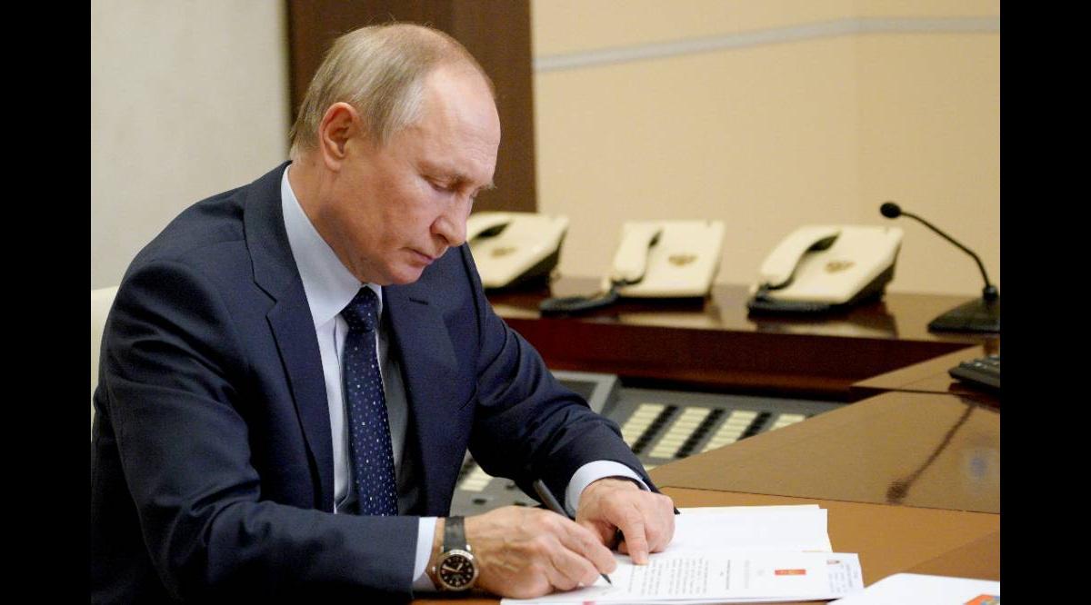 287747394127.63824 Путин подписал закон о государственной защите силовиков