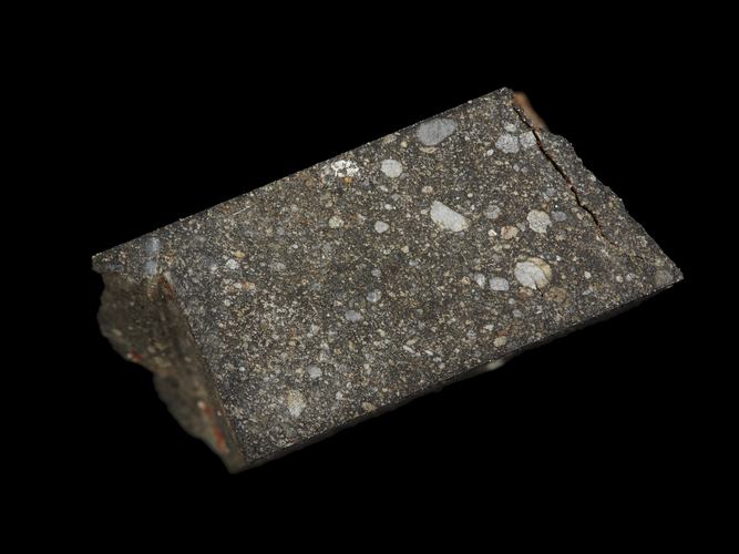 Фрагмент метеорита Yamato 691. Фото © Museums Victoria Collections