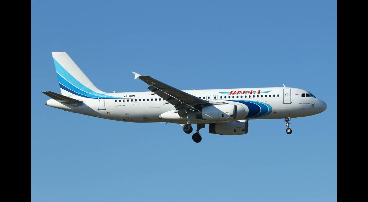 """378419498572.4855 """"Аэробус"""" с отказавшим двигателем приземлился в аэропорту Тюмени"""