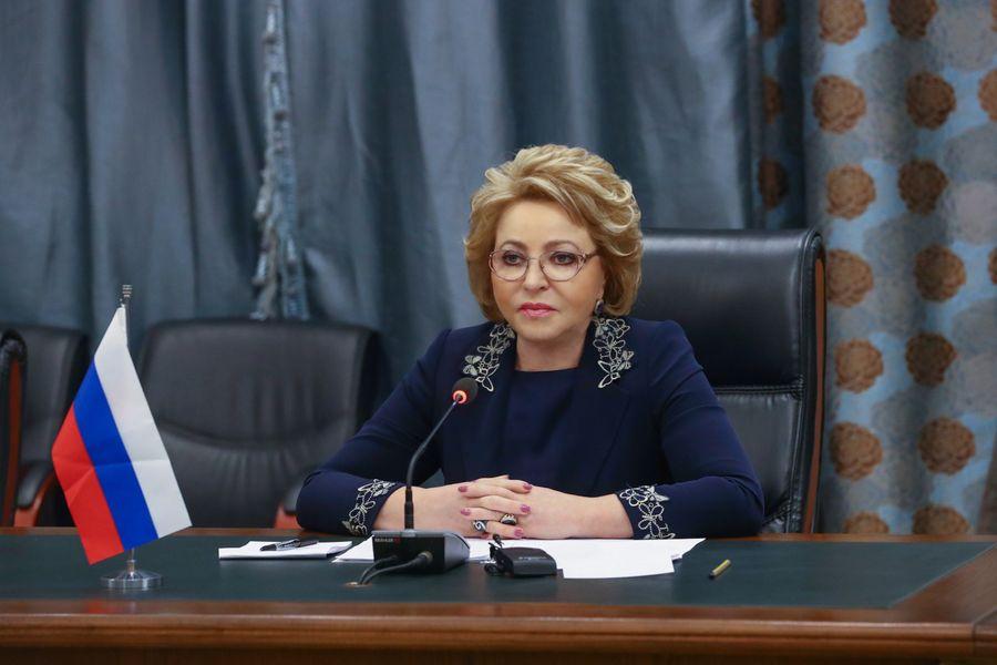 <p>Валентина Матвиенко. Фото © Совет Федерации</p>