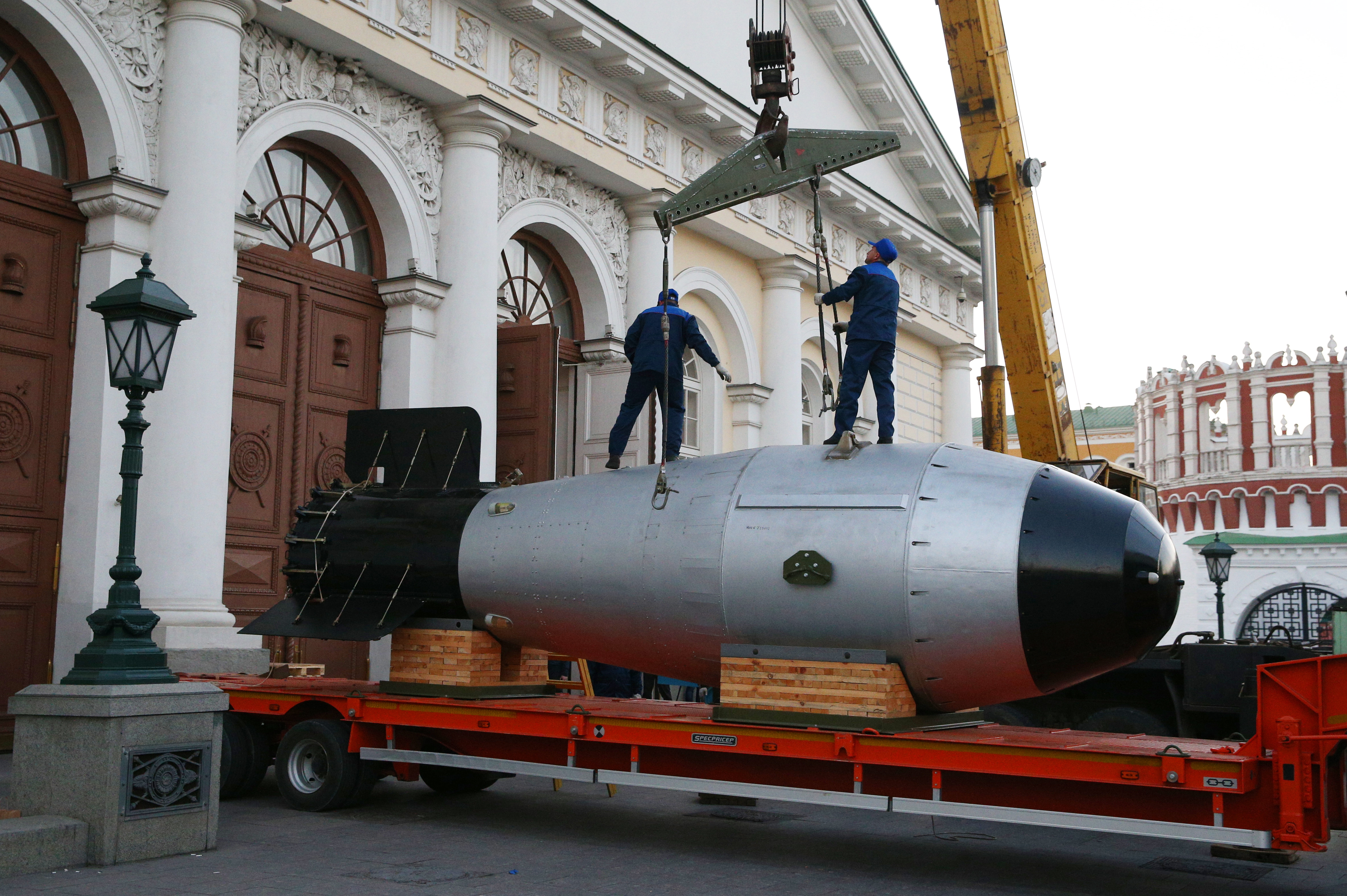 Американцы назвали бесполезной советскую Царь-бомбу