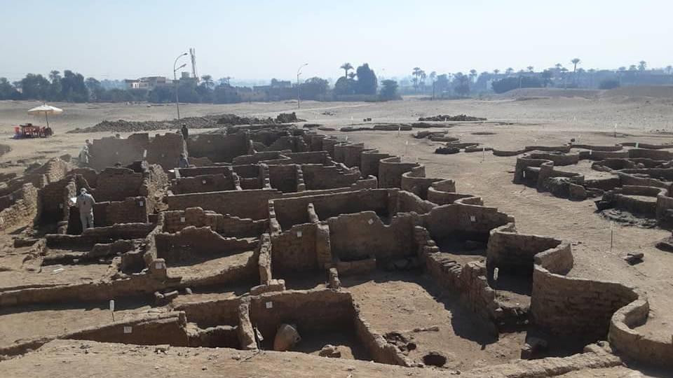 В Египте обнаружили огромный затерянный город возрастом более 3000 лет