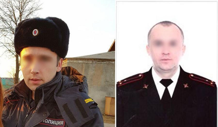 <p>Пострадавшие старший сержант и старший лейтенант. Фото © Соцсети / LIFE</p>
