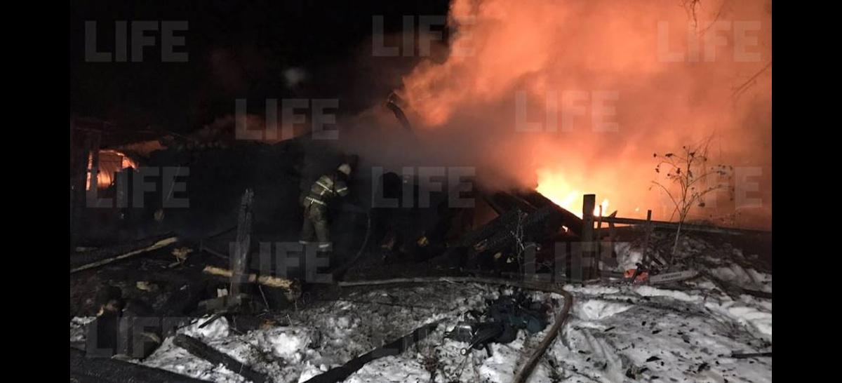 1491277864612.519 В Удмуртии жертвами пожара в частном доме стали четыре человека