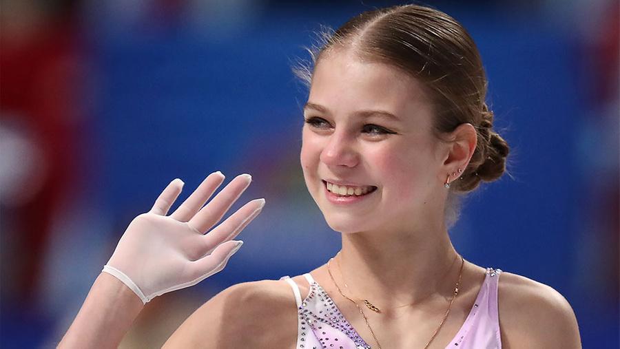 <p>Александра Трусова. Фото © ТАСС / Сорокин Донат</p>