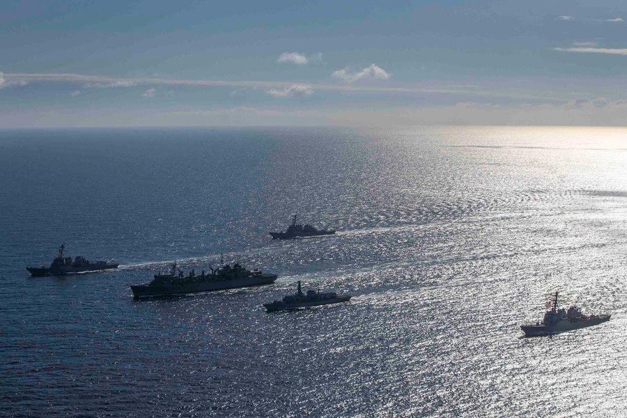 В Кремле отреагировали на решение США не отправлять военные корабли в Чёрное море