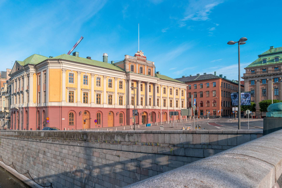 <p>Здание МИД Швеции. Фото © Shutterstock</p>