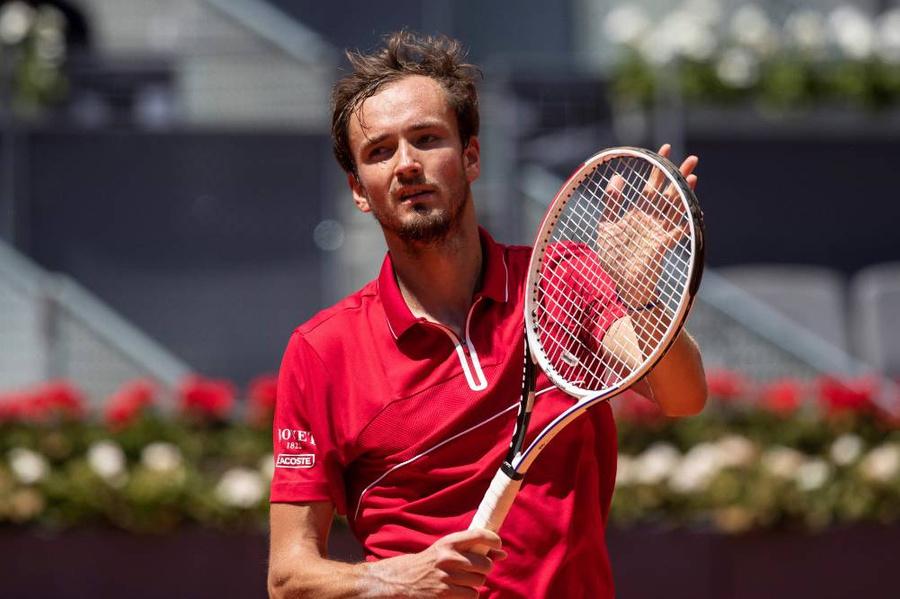 <p>Российский теннисист Даниил Медведев. Фото © ТАСС / ЕРА</p>