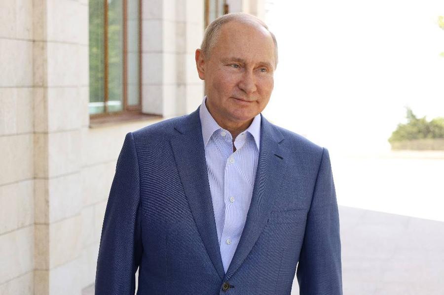 <p>Фото © ТАСС / Михаил Климентьев / Пресс-служба Президента РФ</p>