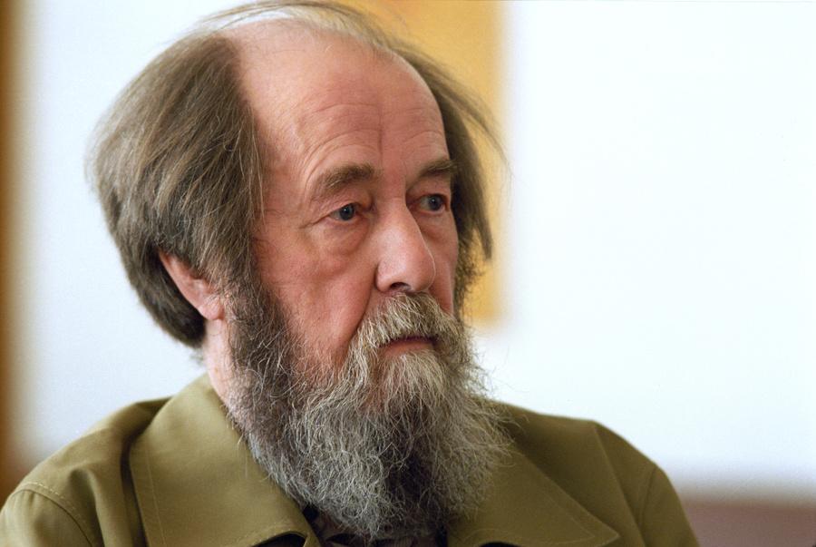 <p>Писатель Александр Солженицын. Фото © ИТАР-ТАСС / Архив / Борис Кавашкин</p>