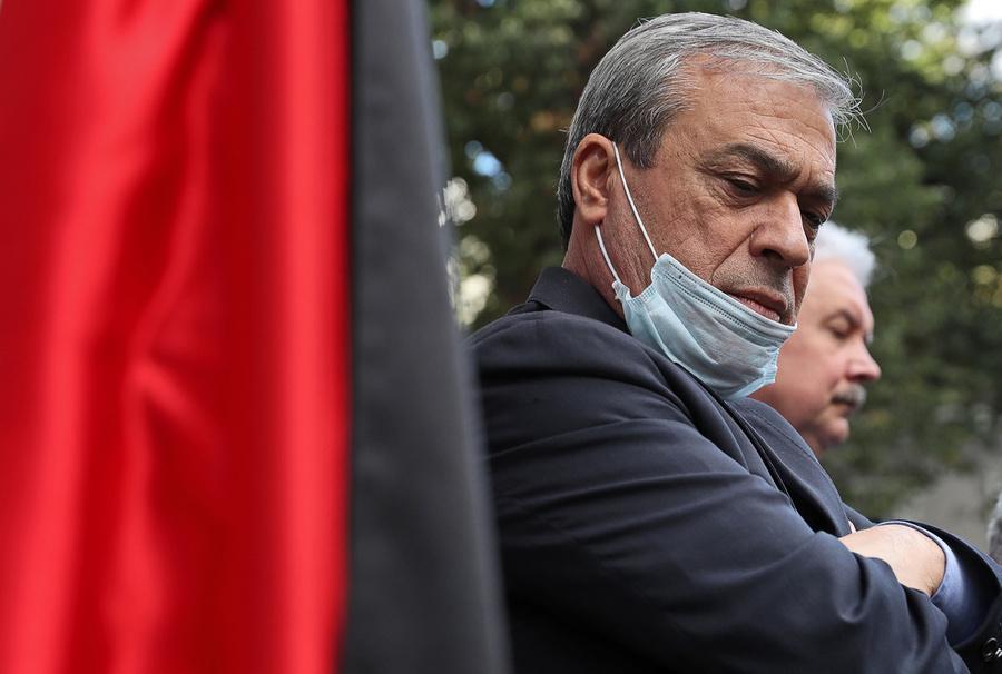<p>Посол Палестины в РФ Абдель Хафиз Нофаль. Фото © ТАСС / Сергей Фадеичев</p>