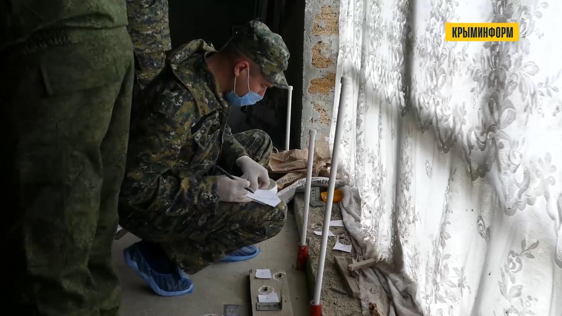 СК возбудил дело по факту нападения боевика на силовиков в Крыму