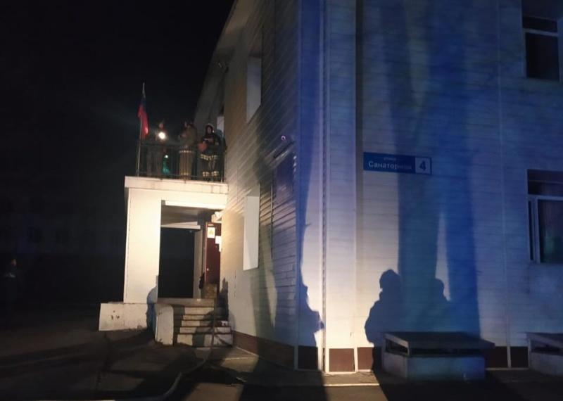 На Камчатке произошёл пожар в интернате для детей-сирот