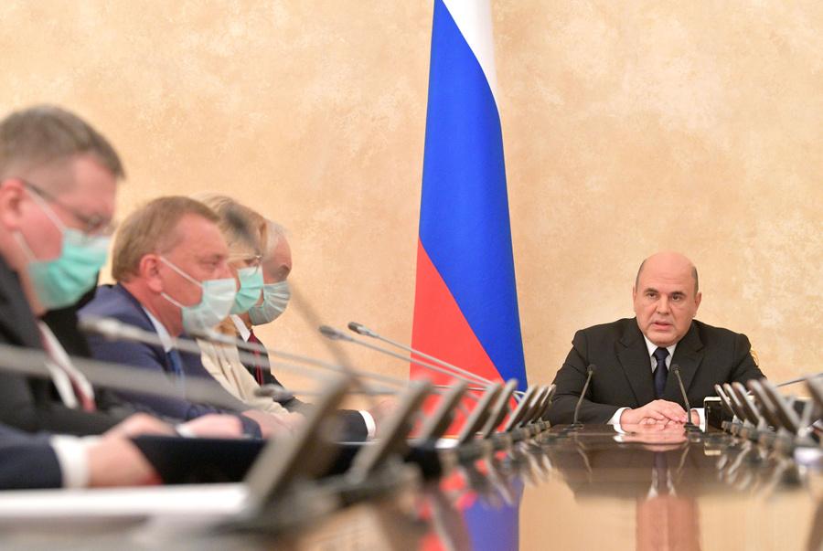 <p>Михаил Мишустин. Фото © ТАСС / Астафьев Александр</p>