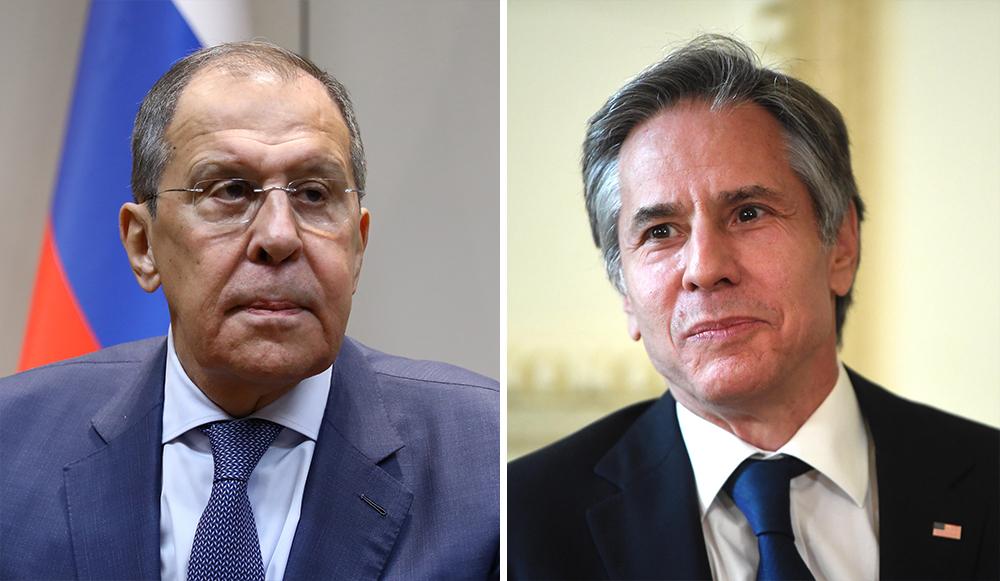 Лавров обсудил с Блинкеном подготовку встречи Путина и Байдена