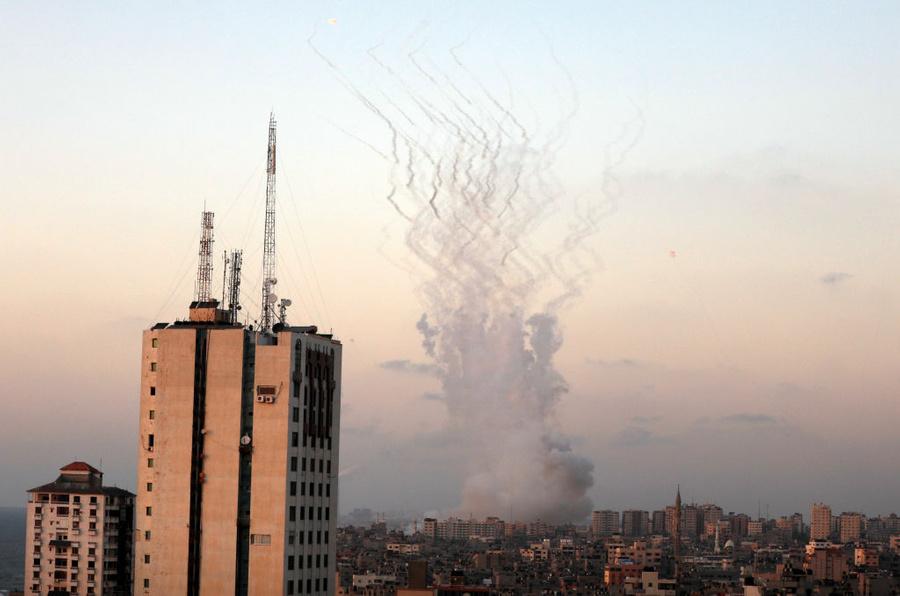 <p>Фото © Majdi Fathi / NurPhoto via Getty Images</p>