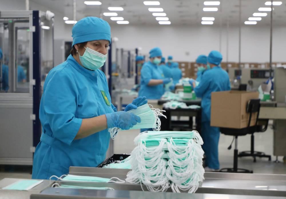 Мишустин заявил, что российской промышленности удалось избежать падения в 2020 году