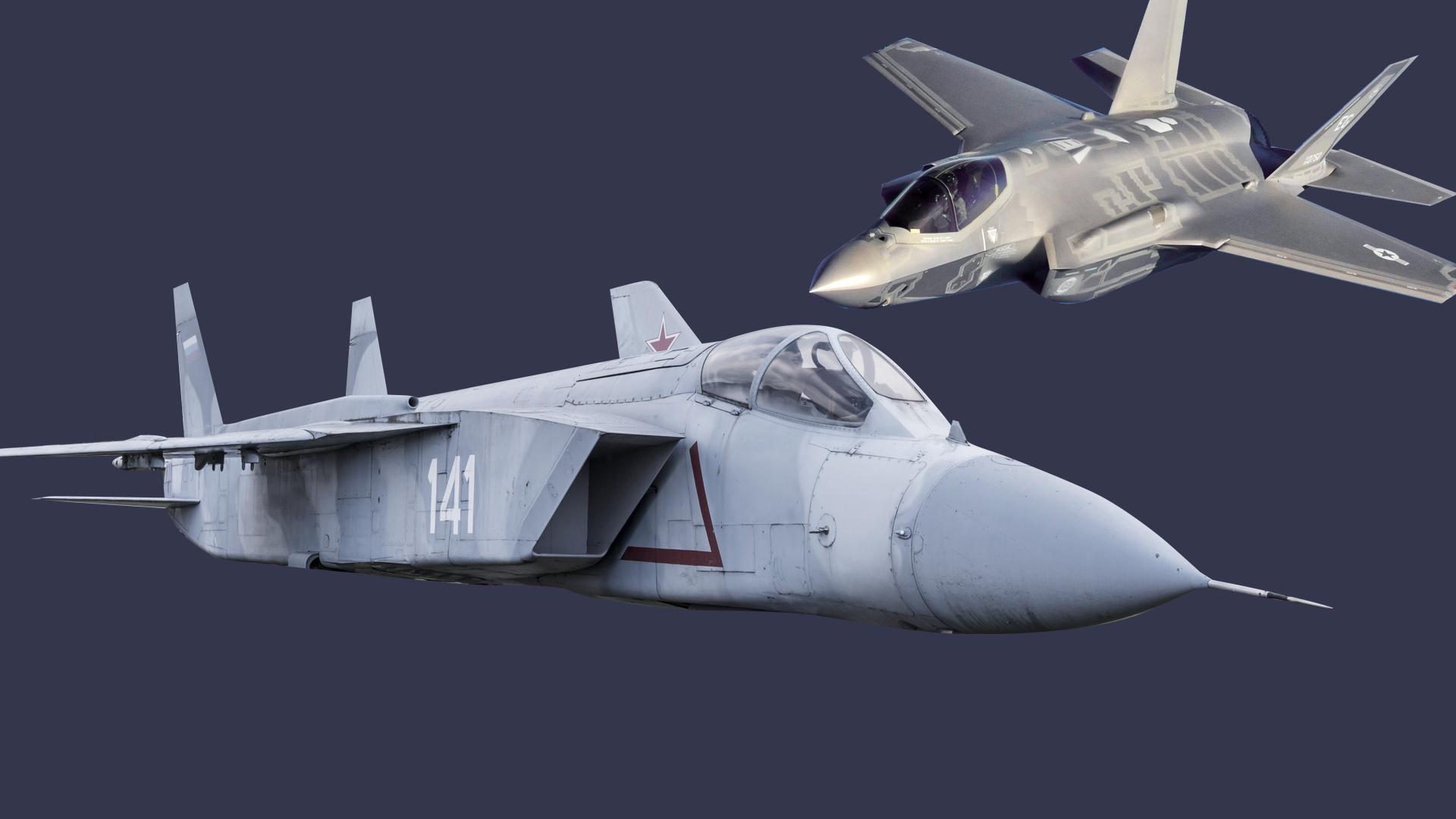 "<p>Коллаж © LIFE. Фото ©<a href=""https://ru.wikipedia.org/wiki/F-35#/media/%D0%A4%D0%B0%D0%B9%D0%BB:F-35A_flight_(cropped).jpg"" target=""_blank"" rel=""noopener noreferrer""> Wikipedia</a>, © Shutterstock</p>"