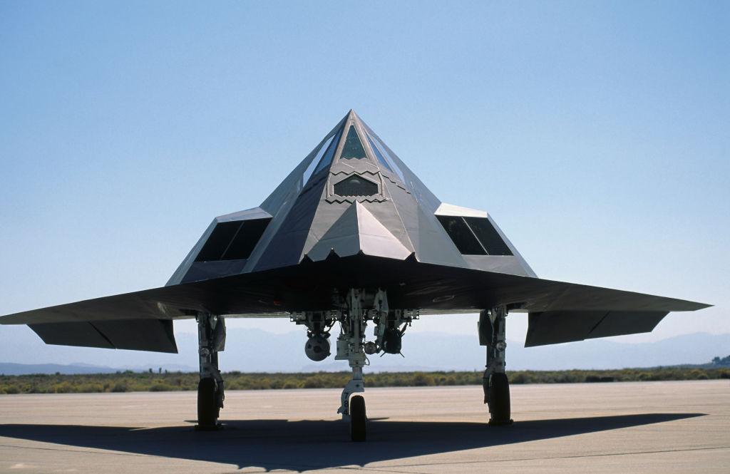 Самолёт-невидимка F-117. Фото © Getty Images / aviation-images.com / Universal Images Group