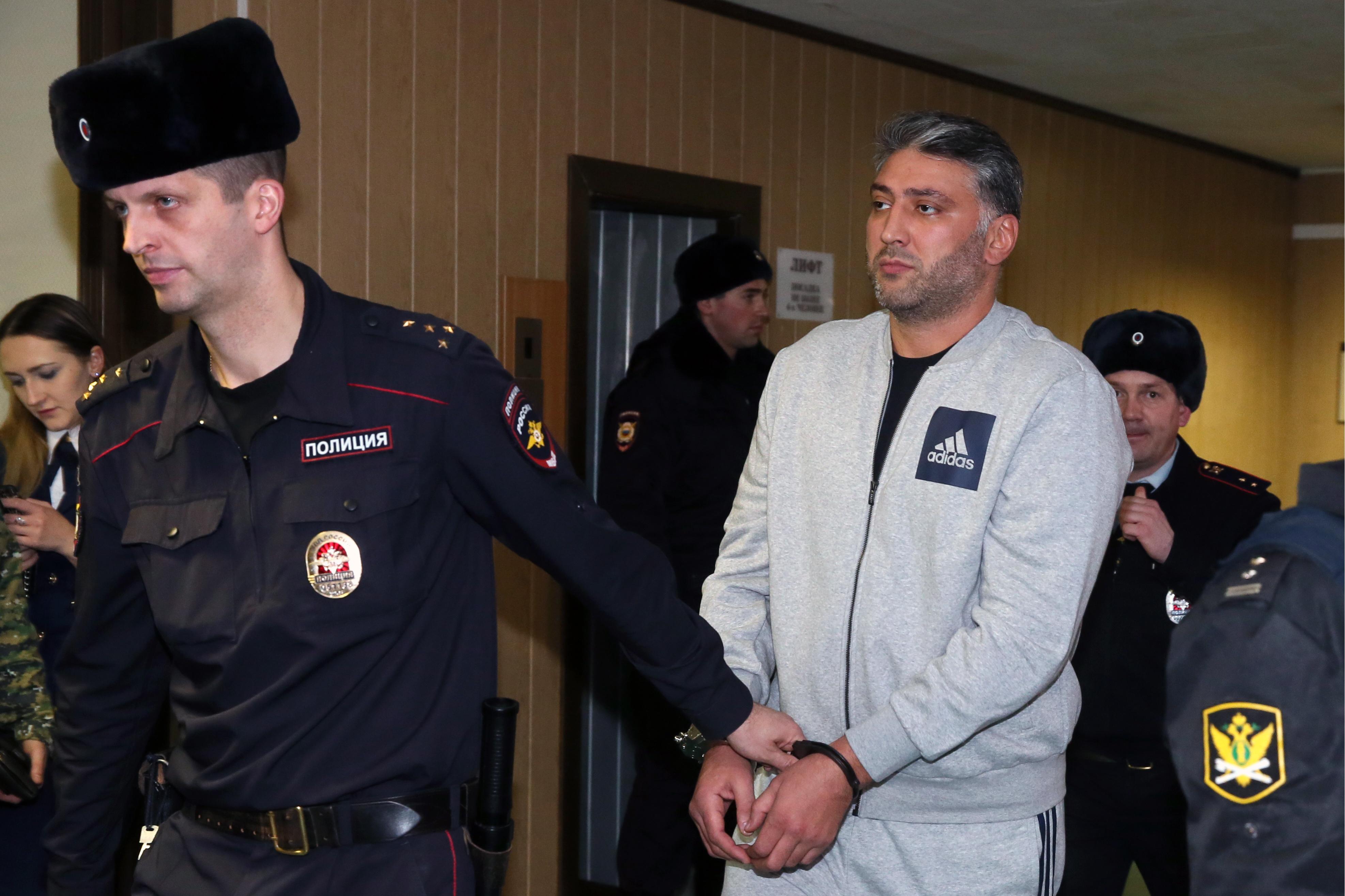 """Двух бывших спортсменов признали виновными по делу о стрельбе в """"Москве-Сити"""""""