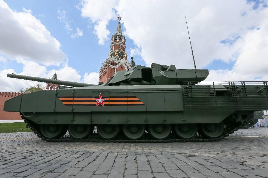 "Танк Т-14 ""Армата"". Фото © ТАСС / Григоров Гавриил"