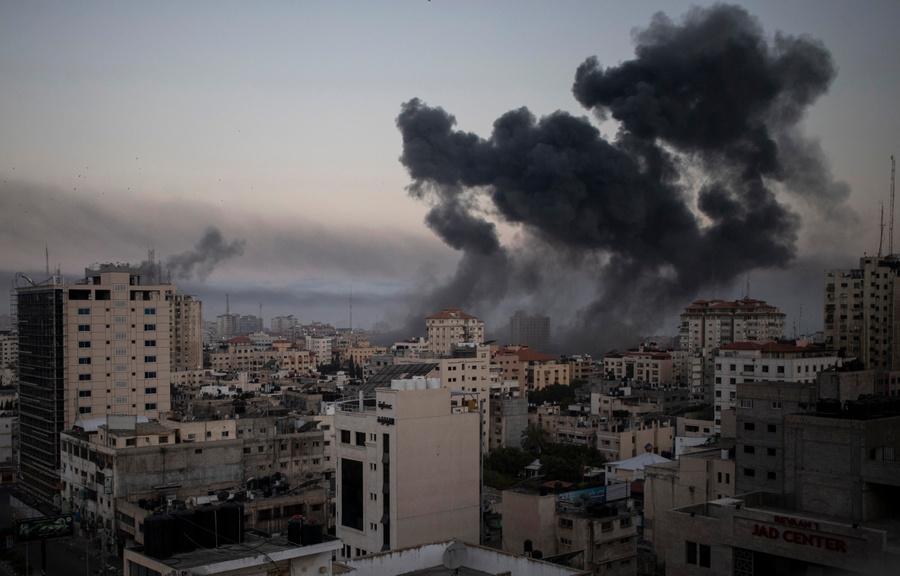 <p>Последствия ракетного обстрела Израилем сектора Газа. Фото © ТАСС / АР</p>