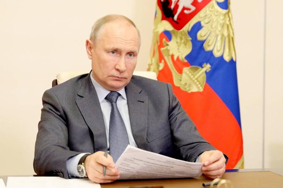 <p>Президент России Владимир Путин. Фото © ТАСС / Сергей Ильин</p>