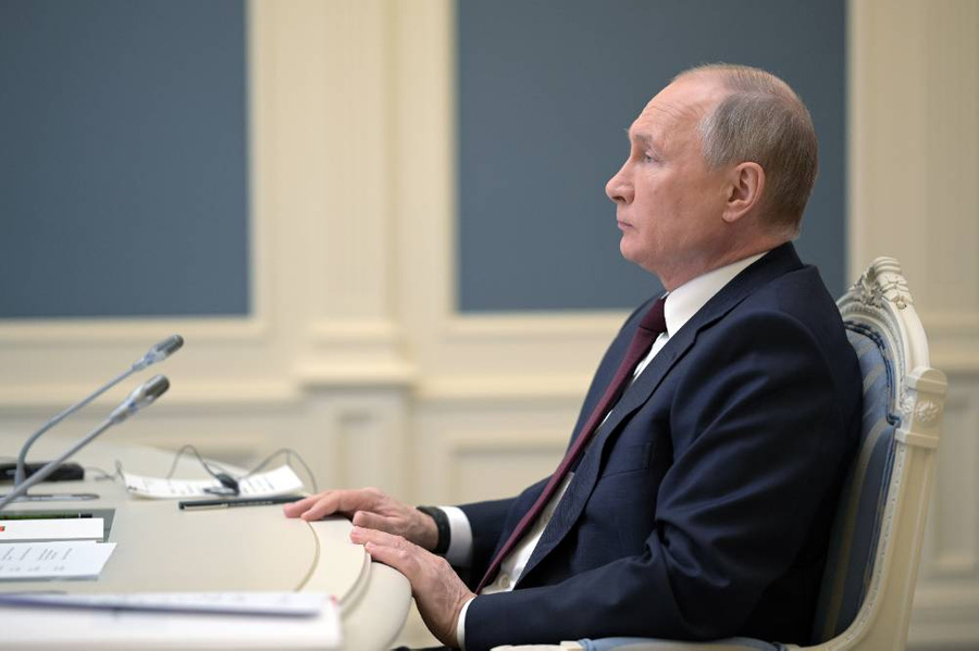 <p>Президент РФ Владимир Путин. Фото © ТАСС / Алексей Дружинин</p>