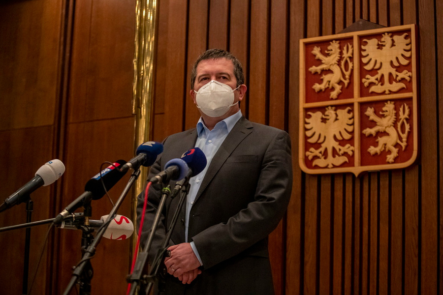 <p>Ян Гамачек. Фото © ТАСС / EPA / MARTIN DIVISEK</p>