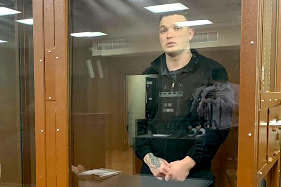 <p>Блогер Эдвард Бил. Фото © ТАСС / Пресс-служба Тверского суда</p>