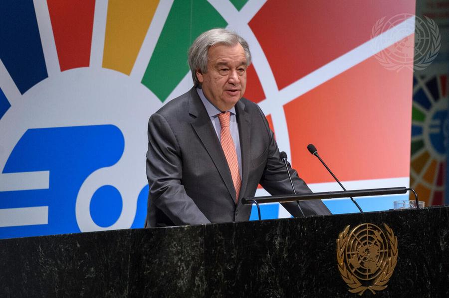 <p>Генеральный секретарь ООН Антониу Гутерриш. Фото © ООН</p>