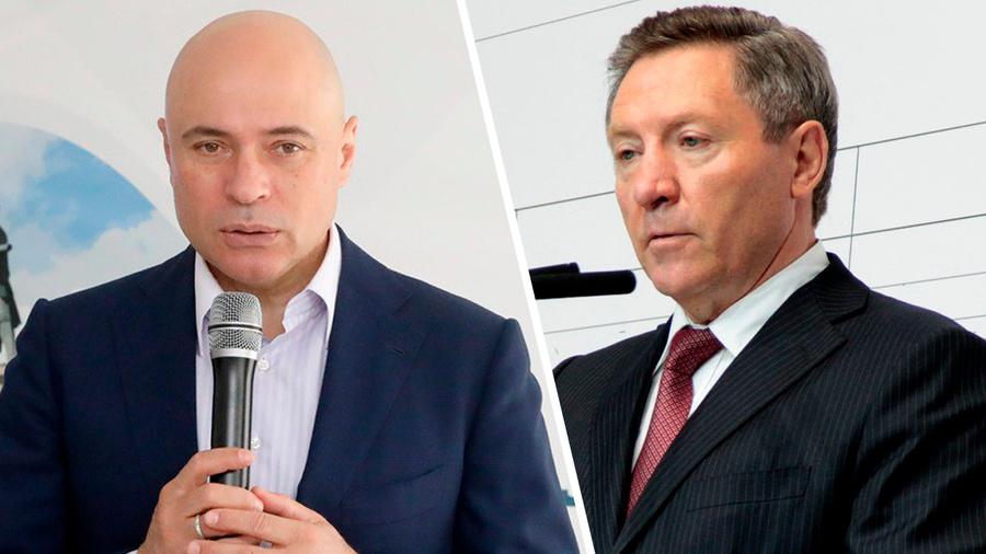<p>Игорь Артамонов (слева), Олег Королёв. Фото © Пресс-служба Администрации Липецкой области</p>