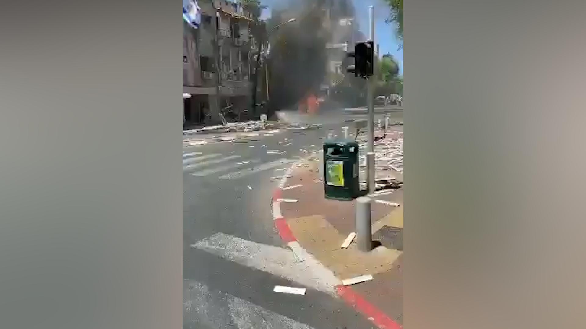 Один человек погиб в пригороде Тель-Авива в результате ракетного обстрела из сектора Газа