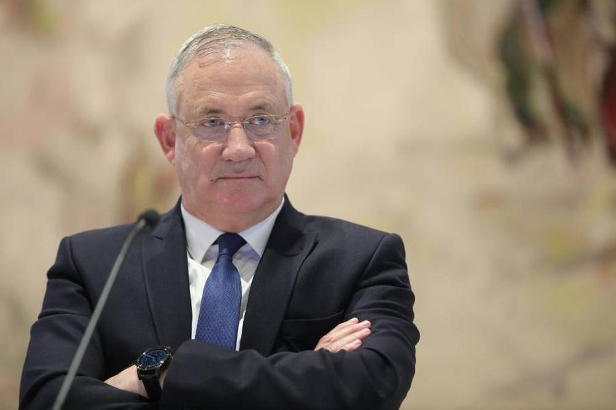 <p>Министр обороны Израиля Бени Ганц. Фото © ТАСС / EPA</p>