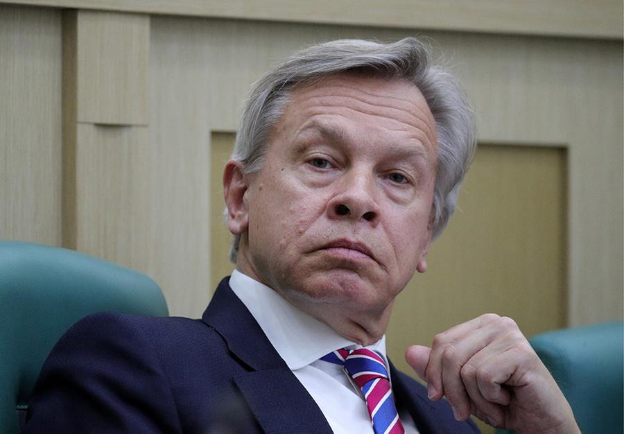 <p>Алексей Пушков. Фото © ТАСС / Бобылев Сергей</p>