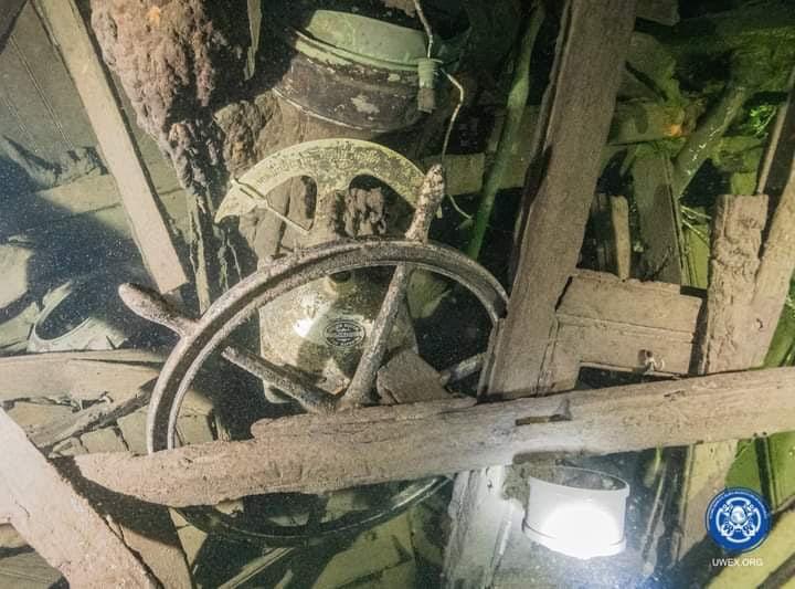 """Санитарный транспорт """"Калпакс"""". Фото © VK / Разведывательно-водолазная команда"""
