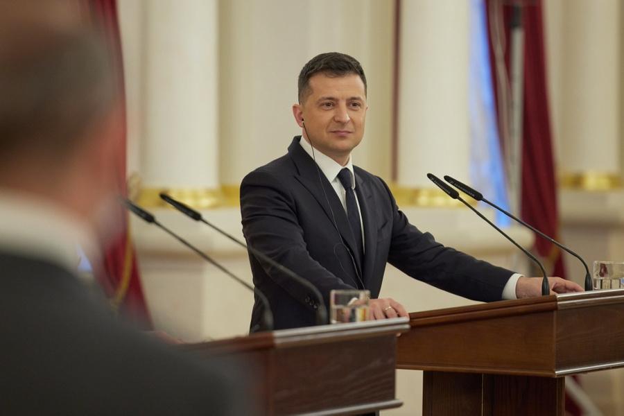 <p>Владимир Зеленский. Фото © Пресс-служба президента Украины</p>