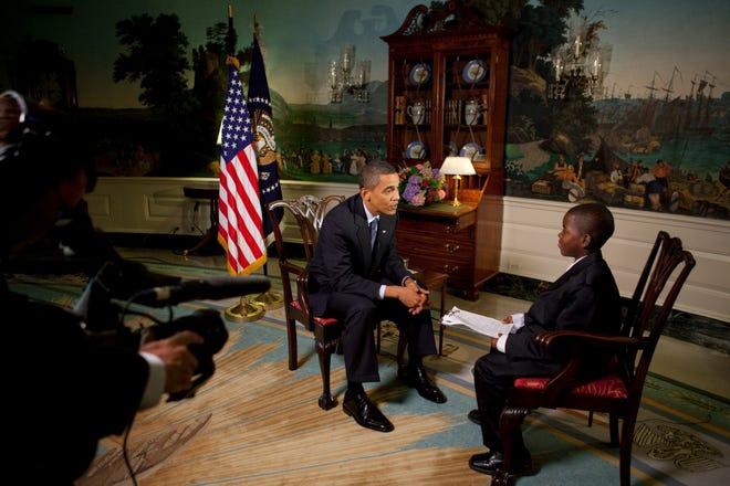 "<p>Барак Обама даёт интервью Дэймону Уиверу. Фото © <a href=""https://www.whitehouse.gov/"" target=""_blank"" rel=""noopener noreferrer"">White House</a></p>"