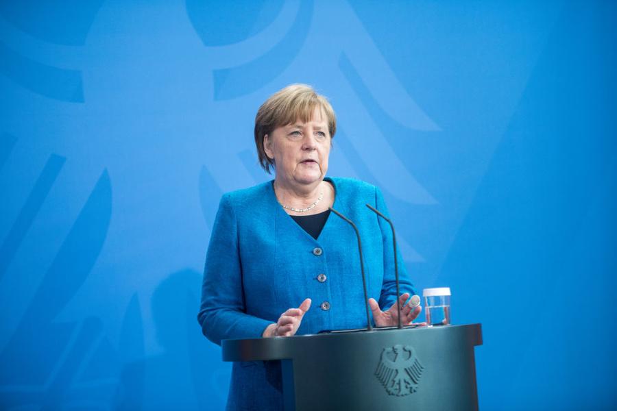 <p>Ангела Меркель. Фото © Getty Images / Steffi Loo</p>