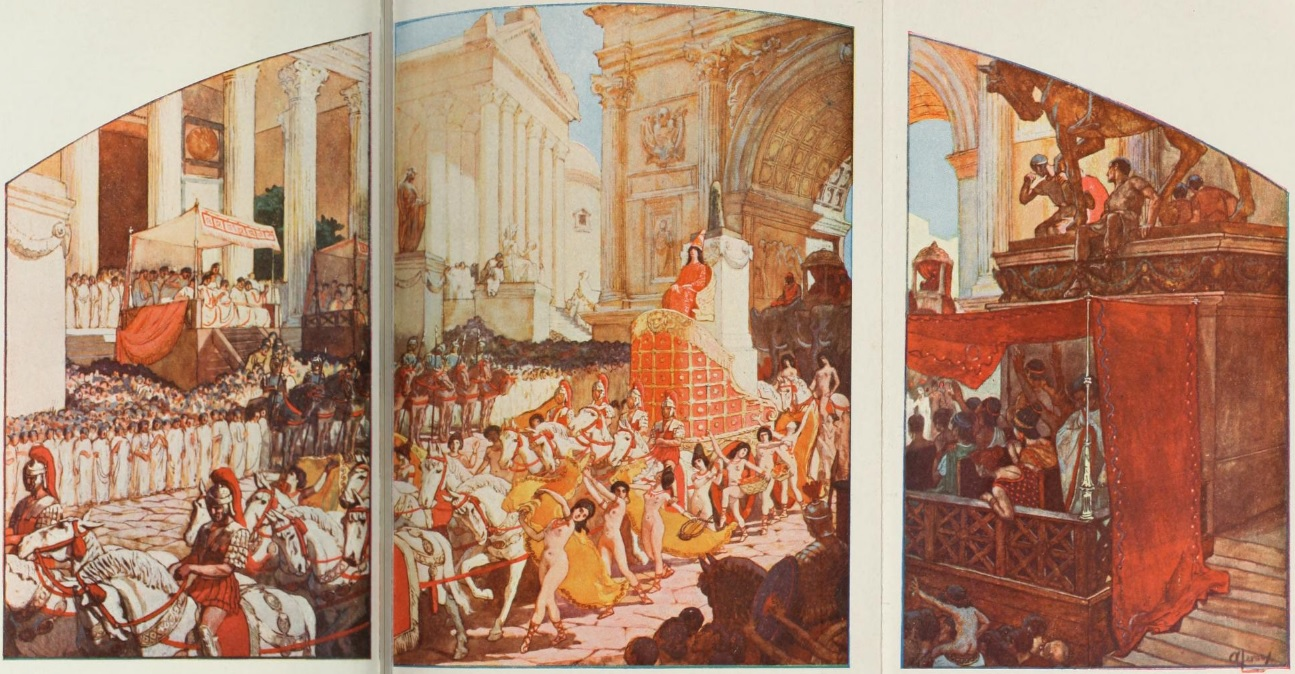 """Огюст Леру. """"Триумф Гелиогабала"""". Фото © Википедия"""